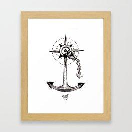 Ancla Framed Art Print