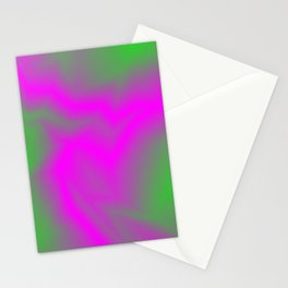 Blurry outlines of lightning with a swirling gap. Stationery Cards