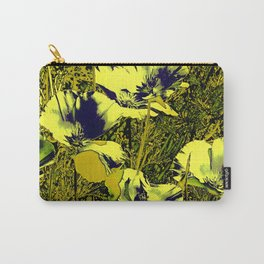 Amazing glowing Flowers 2C Carry-All Pouch
