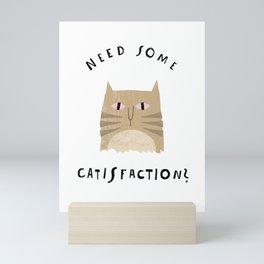 Catisfaction No. 8 Mini Art Print