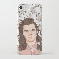 coconutwishes iPhone & iPod Cases featuring H Pink by Coconut Wishes