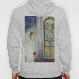 "Odilon Redon ""Portrait of Simone Fayet in Holy Communion"" Hoody"