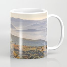 morning mist in the Douro Valley, Portugal Coffee Mug
