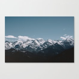 Great Western Divide Canvas Print