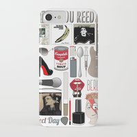 lou reed iPhone & iPod Cases featuring A tribute to Lou Reed by Lili's Damn Fine Shop