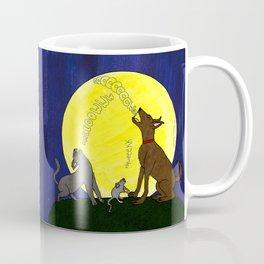 Singing to the Moon Coffee Mug