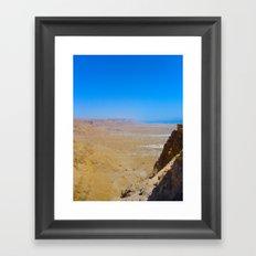 Masada Framed Art Print