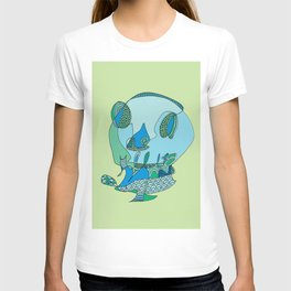 Balloon Skull T-shirt