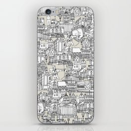 NOTTINGHAM CHAMPAGNE iPhone Skin