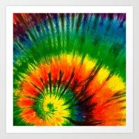 hippie Art Prints featuring HIPPIE by Maioriz Home