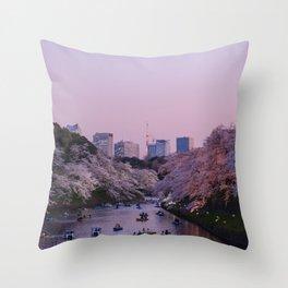 Tokyo 60 Throw Pillow