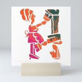 The Art Of Saul Mandel Mini Art Print