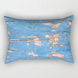 Flaky Blue 61 Rectangular Pillow