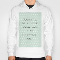 calendars Hoodies featuring Remember if anyone asks ~ Polka Dots ~ poster ~ typography ~ illistration by Shabby Design Studio