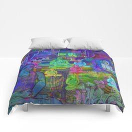 SPACED OUT Comforters