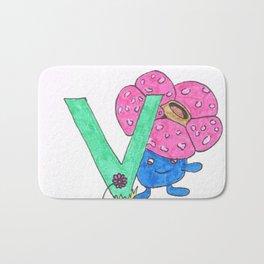 V is for Vileplume Bath Mat