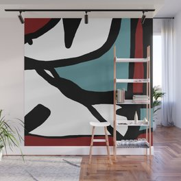 Abstract Painting Design - 1 Wall Mural