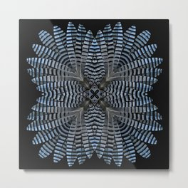 Jay Feather Star Metal Print