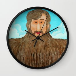 Jim's Amazing Beard Wall Clock