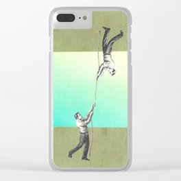 ropes 5 Clear iPhone Case