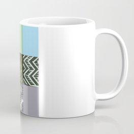 Colour block pastel Coffee Mug