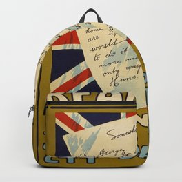 Vintage poster - Read This Join Now Backpack