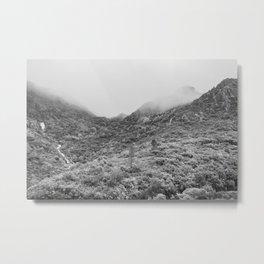 Fog mountains Metal Print