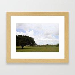 Holiday Park Framed Art Print