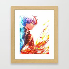 Boku no hero Framed Art Print
