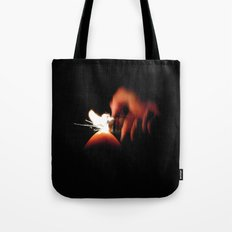 Spark Fire Tote Bag