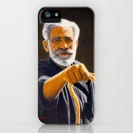Portrait of Cretan man iPhone Case