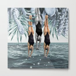 Dive Into Metal Print