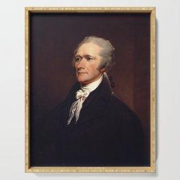 Alexander Hamilton by John Trumbull Serving Tray