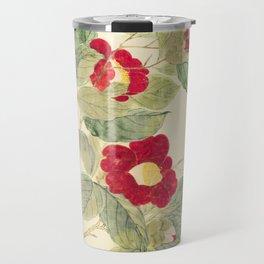 Red flowers , red flowers Travel Mug