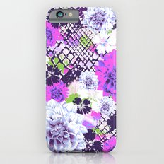Croc Floral Goes Purple Slim Case iPhone 6s
