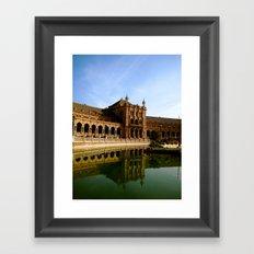 Plaza de España Framed Art Print