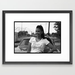 Des & The 68 Framed Art Print
