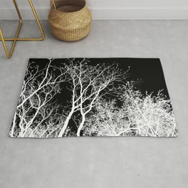 Branching Out In Light And Dark Rug