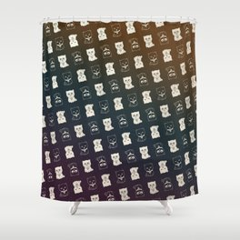 FORTUNE PATTERN Shower Curtain