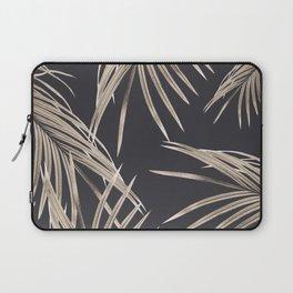 Sepia Palm Leaves Dream #1 #tropical #decor #art #society6 Laptop Sleeve