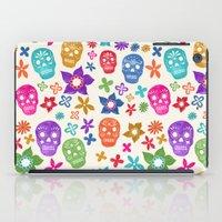 sugar skulls iPad Cases featuring Sugar Skulls by Emmyrolland