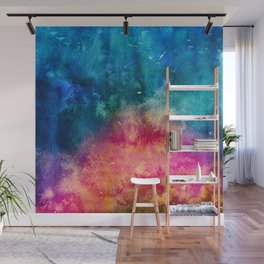 Watercolor Explosion Wall Mural