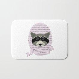 Mevrouw Raccoon Bath Mat