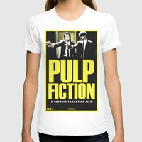 pulp T-shirts featuring PULP FICTION by Rikartdo