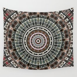 Fan of Geometry Wall Tapestry