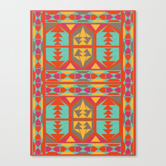 Neo Native Canvas Print