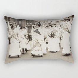 Suffragist Parade, 1912 Rectangular Pillow