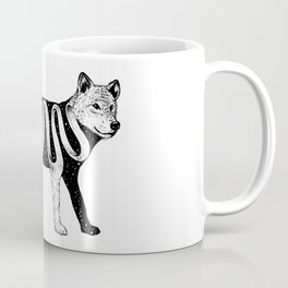 Lost in Its Own Existence (Wolf) Coffee Mug