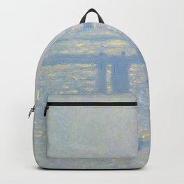 Claude Monet - Charing Cross Bridge.jpg Backpack