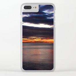Saltburn Dusk Clear iPhone Case